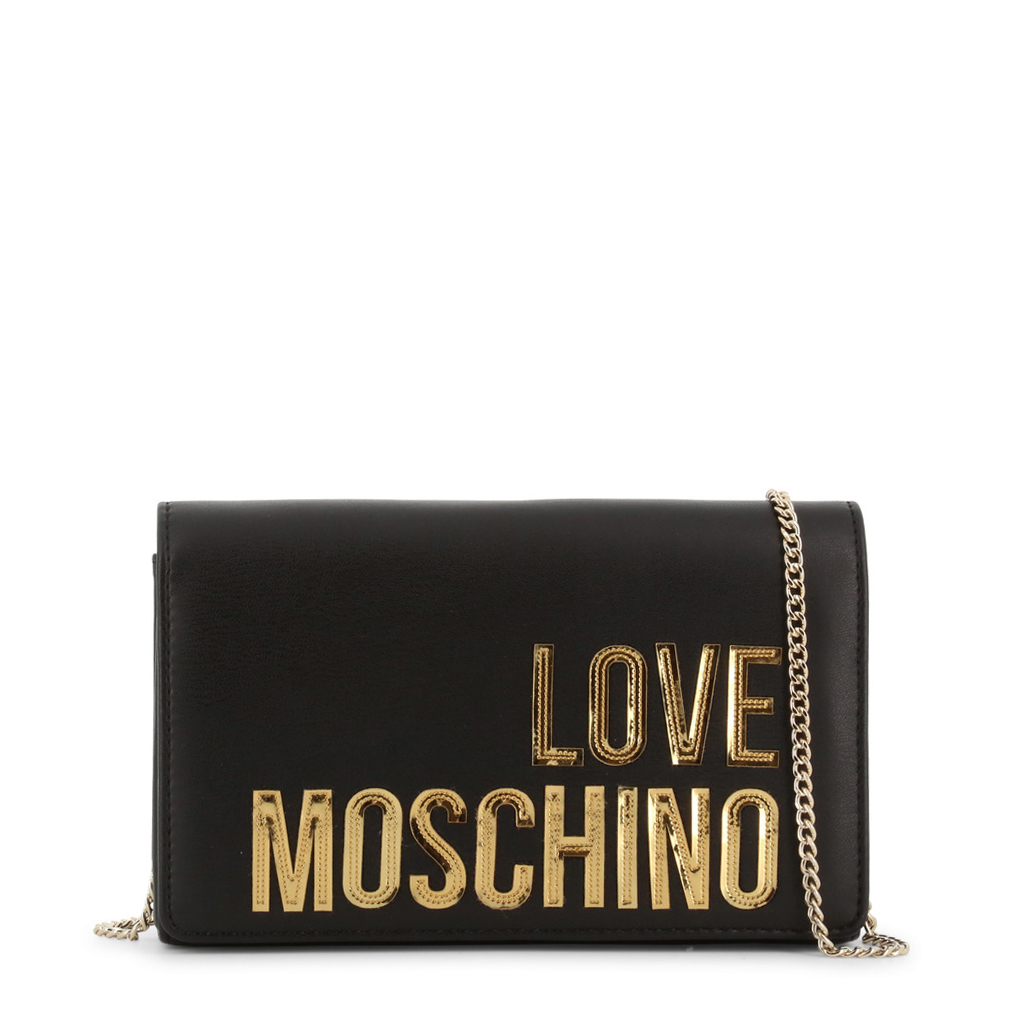 d9d40521a7 Moschino Folle Bandoulière De Sac Love Sacs Noir WE29YDIeH